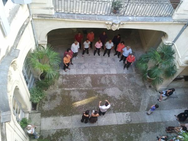 Journées du patrimoine 2018 - Visite libre de la cour et de l'escalier