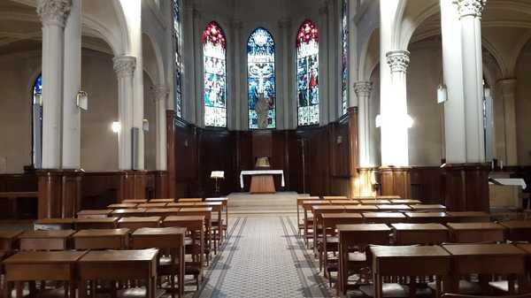 Crédits image : Crédit photo : Chapelle Notre-Dame de Bon-Secours - Vue intérieure - Service de l'Inventaire de la Région Grand Est
