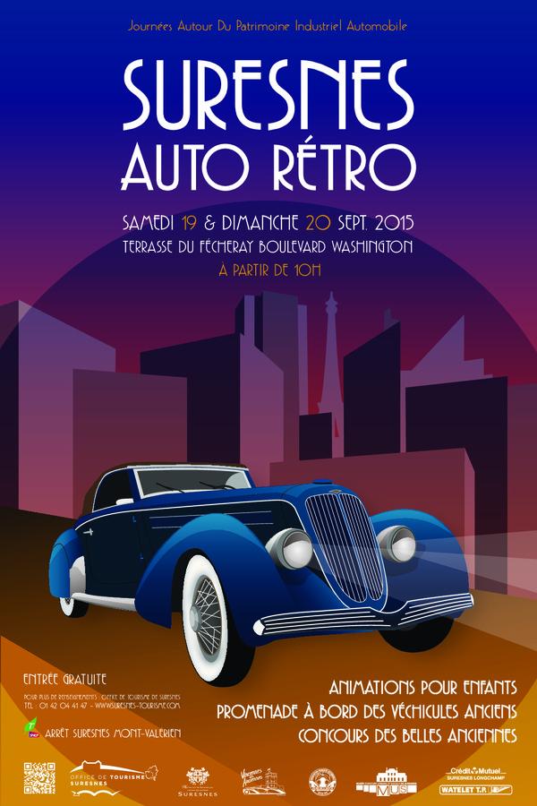 Journées du patrimoine 2020 - Suresnes Auto Rétro 2020