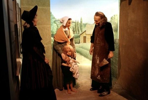 Journées du patrimoine 2018 - Visite du musée de cire du Saint curé d'Ars.