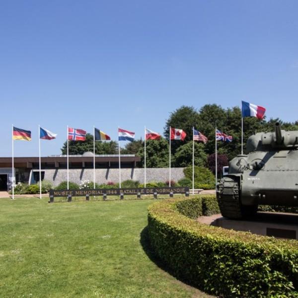Journées du patrimoine 2018 - Visite libre du musée de la bataille de Normandie et du cimetière militaire britannique