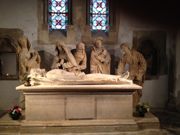 Crédits image : Saint-Dizier - Église Notre-Dame - Mise au tombeau © Office de tourisme Saint-Dizier Der et Blaise
