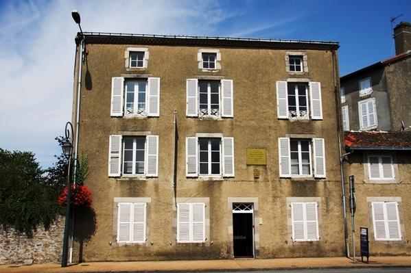 Journées du patrimoine 2017 - Visite de la maison natale de Jean Giraudoux