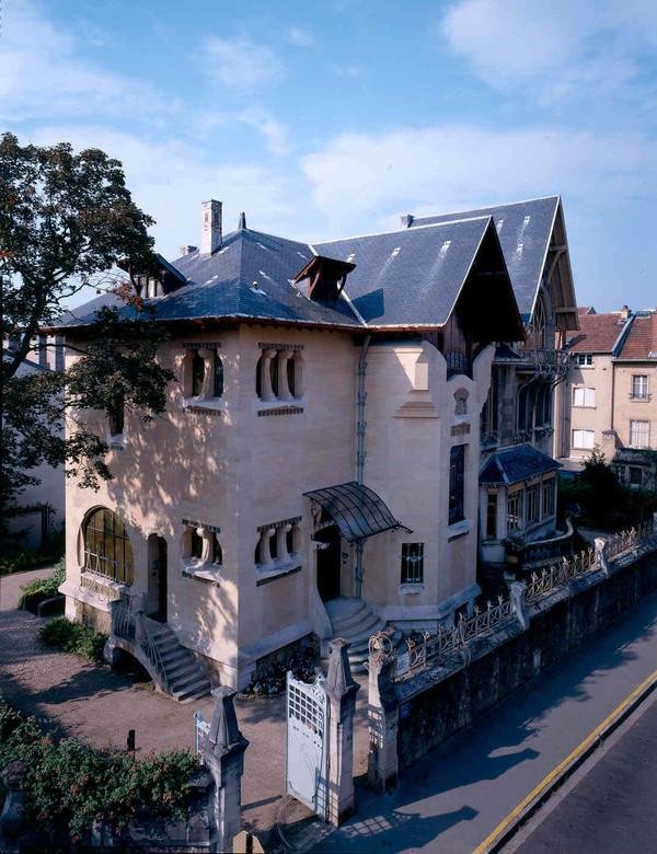 Crédits image : Villa Majorelle, Nancy, façade nord est, Cliché P. Mignot