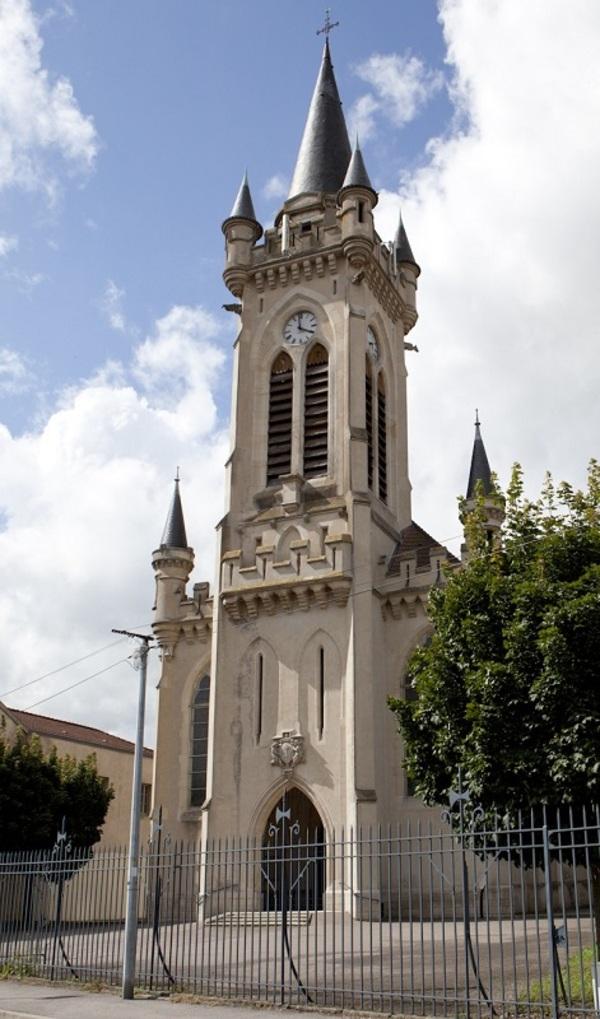 Crédits image : Sainte-Jeanne-d'Arc, Lunéville - C. Guyon