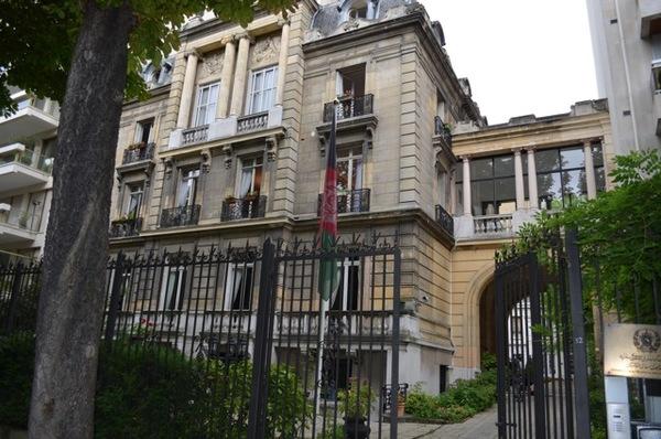 Journées du patrimoine 2018 - Visite de l'Ambassade d'Afghanistan en France