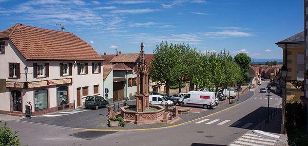 Crédits image : Bischoffsheim - Place Saint-Rémy - (c)Alexjeuns -wikimedia commons
