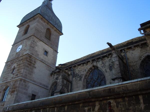Journées du patrimoine 2017 - Visite du chantier de la collégiale Notre-Dame des Oliviers