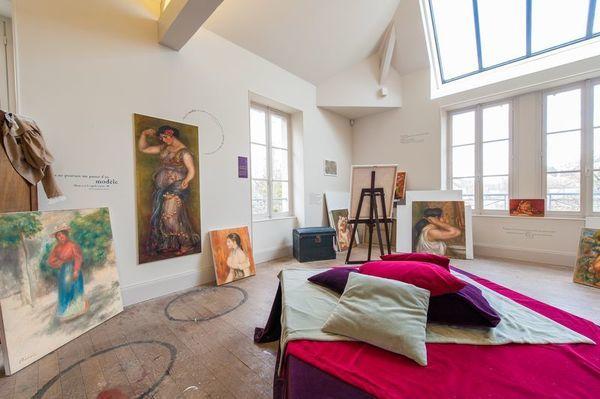 Crédits image : L'atelier Renoir © Sylvain BORDIER