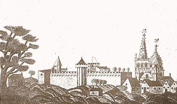 Crédits image : © Valognes (au XVIIe siècle, coll. ville de Valognes)