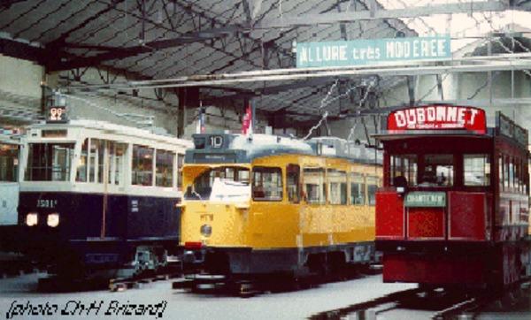 Journées du patrimoine 2018 - Ouverture spéciale du musée des transports urbains de France !