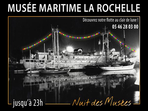 Nuit des musées 2019 -Musée maritime de la rochelle