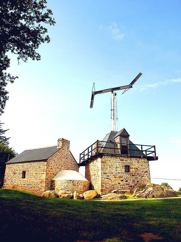 Journées du patrimoine 2017 - Construction d'un télégraphe de Chappe