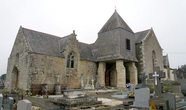 Crédits image : Wikipedia - Chapelle Saint David