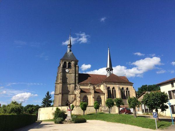 Crédits image : Eglise Saint-Laurent et Saint Jean-Baptiste de Soulaines-Dhuys © Libre de droits