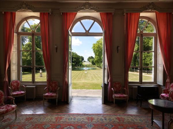 Journées du patrimoine 2017 - visite libre du parc et des jardins du château de Canon