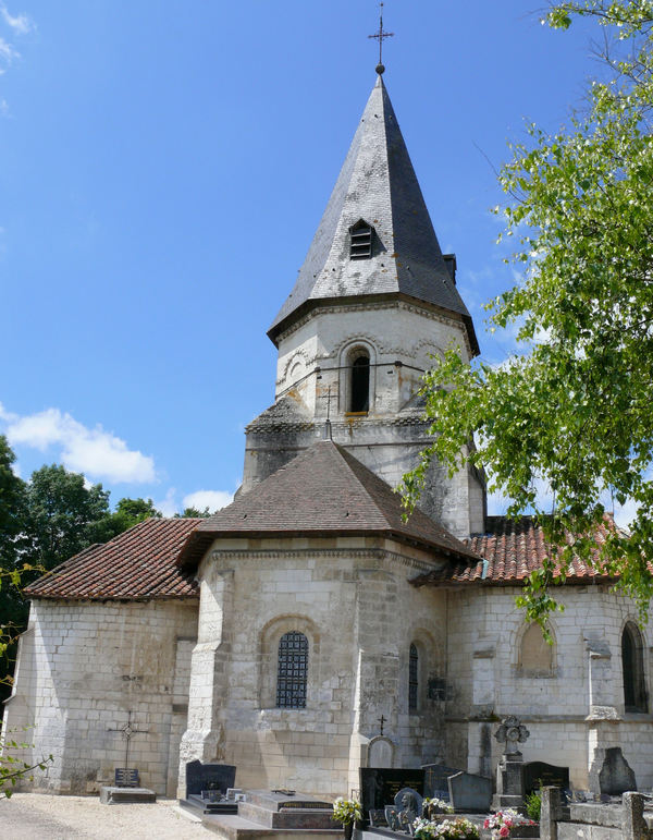 Crédits image : (c) Commons wikimedia - MOSSOT - église Saint-Pierre de Coulmier