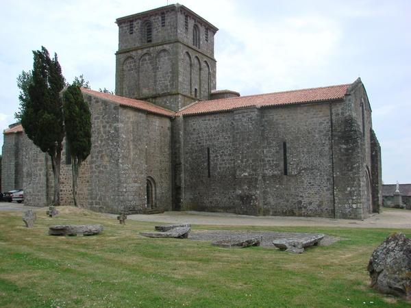 Journées du patrimoine 2018 - Visite de l'église Notre-Dame du vieux-Pouzauges