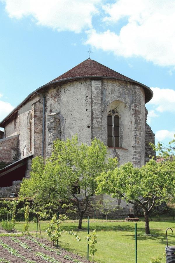 Crédits image : Abbaye St Maur © Association amis de Saint-Maur