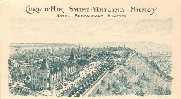 Crédits image : La cure d'air Saint-Antoine à la belle époque © La cure d'air Saint-Antoine