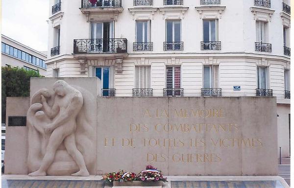 Monument aux Morts - Square Bonaventure Leca