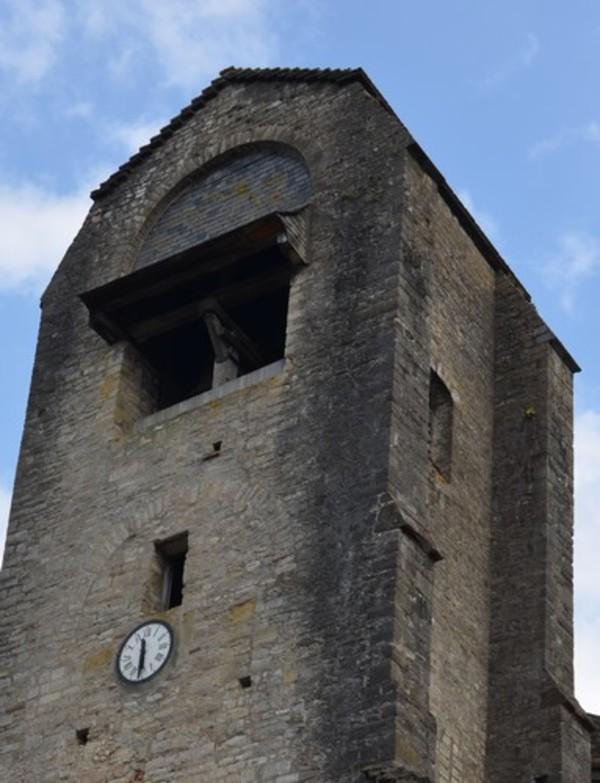 Crédits image : Image : clocher de l'église ©Service Patrimoine OSM