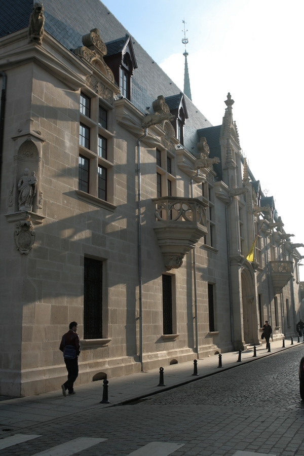 Crédits image : Palais des ducs de Lorraine - Musée lorrain, façade. Cliché Ville de Nancy