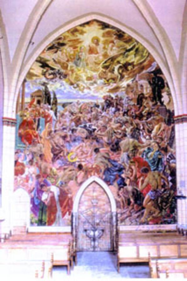 Journées du patrimoine 2017 - Visite libre de l'église de Saint-Laurent et des peintures de Lagorre