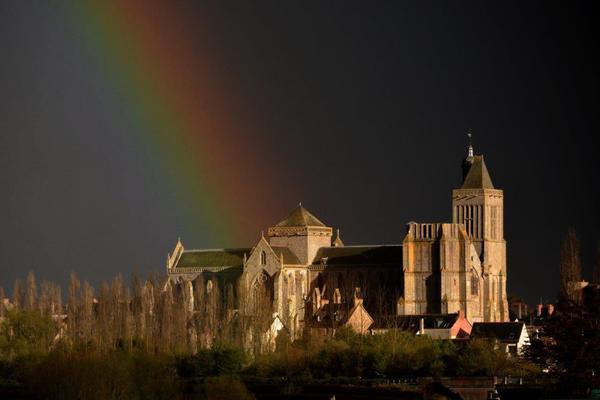 Journées du patrimoine 2017 - Le puits double de la cathédrale de Dol-de-Bretagne