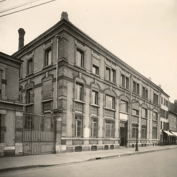 Crédits image : Archives municipales de Nancy