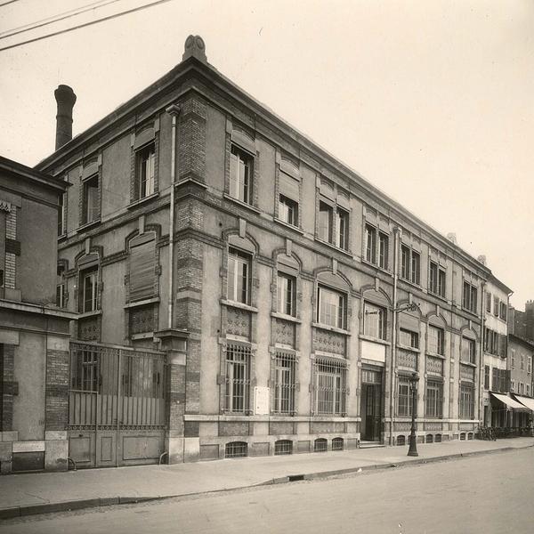 Crédits image : Archives municipales de Nancy