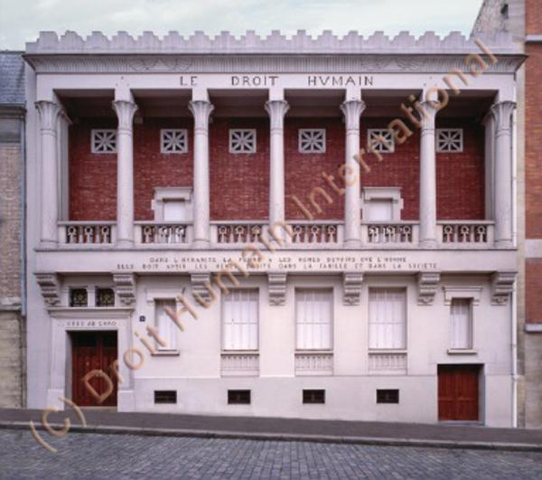 Journées du patrimoine 2018 - Visite guidée du siège de l'Ordre Maçonnique Mixte International le Droit Humain
