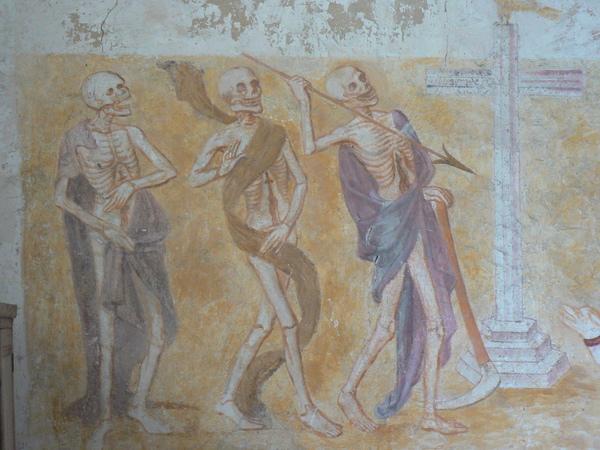 Journées du patrimoine 2017 - La Danse Macabre de La Ferté-Loupière