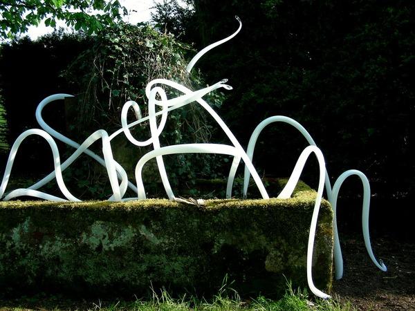 Rendez Vous aux Jardins 2018 -Le jardin de verre de la verrerie d'art