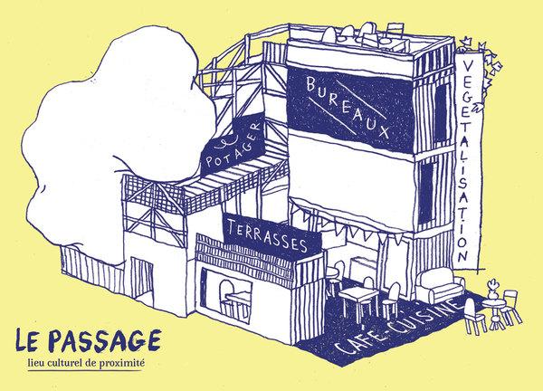 Crédits image : Le Passage, lieu culturel de proximité