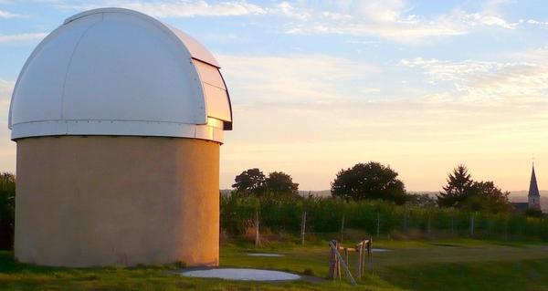 Journées du patrimoine 2018 - Visite guidée de l'observatoire astronomique d'Hesloup