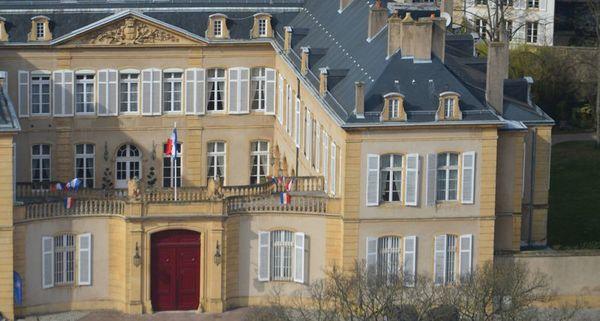 Crédits image : Hôtel de la préfecture - © Préfecture de la Moselle