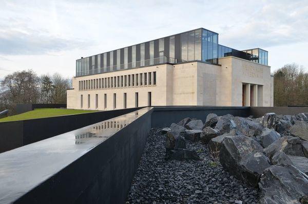 Crédits image : Mémorial de Verdun - vue extérieure © Jean-Marie Mangeot