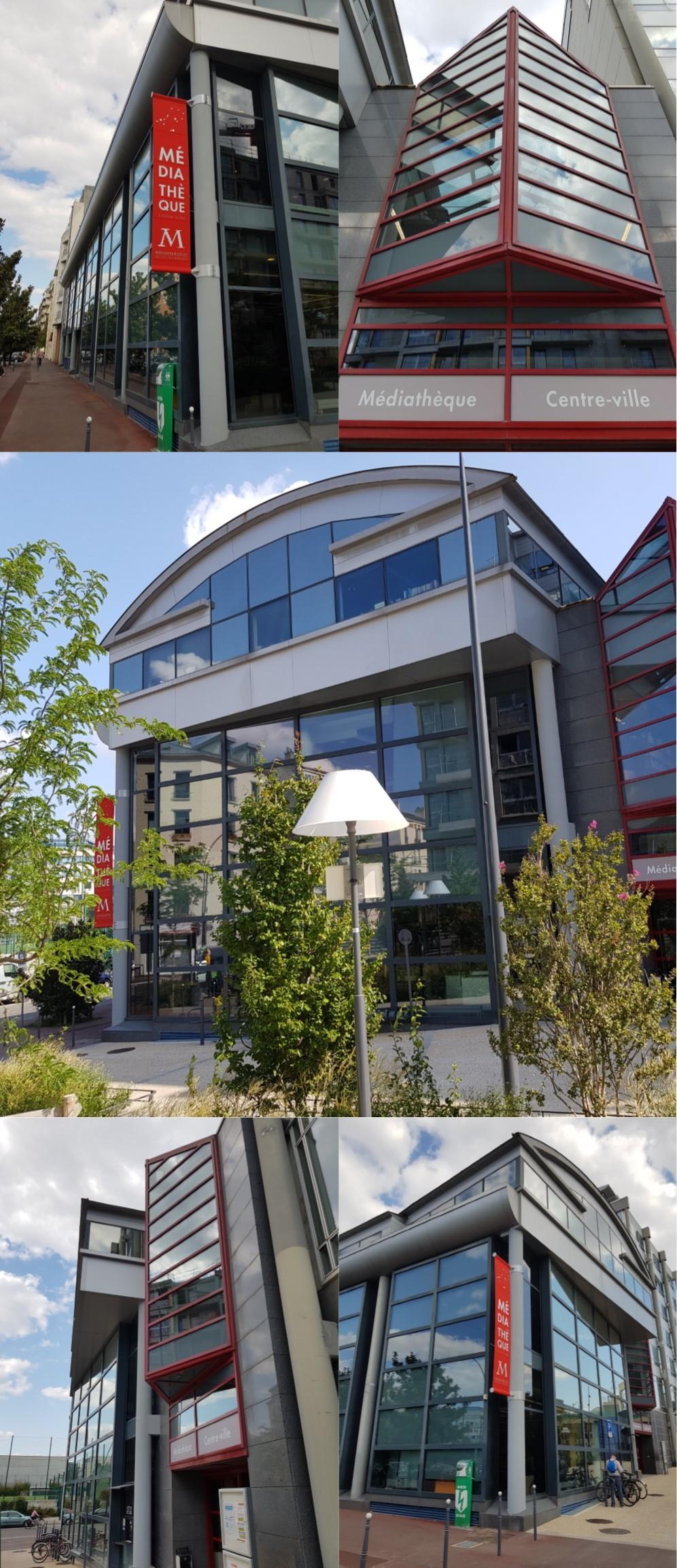 Médiathèque centre-ville