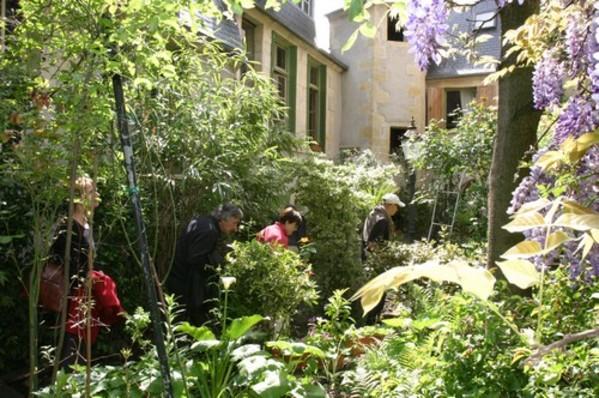 Rendez Vous aux Jardins 2018 -Jardin de l'hotel de la chasseigne