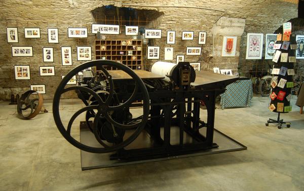 Journées du patrimoine 2020 - Atelier de typographie et de linogravure