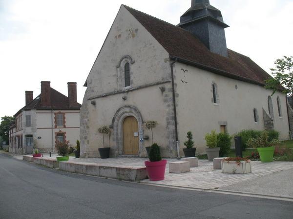 Journées du patrimoine 2017 - Visite commentée de l'église et de la restauration des peintures murales