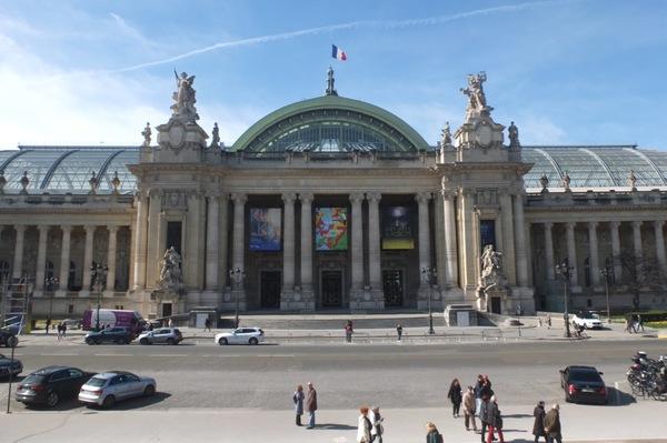 Crédits image : Façade principale du Grand Palais. (c) Caroline Dubail