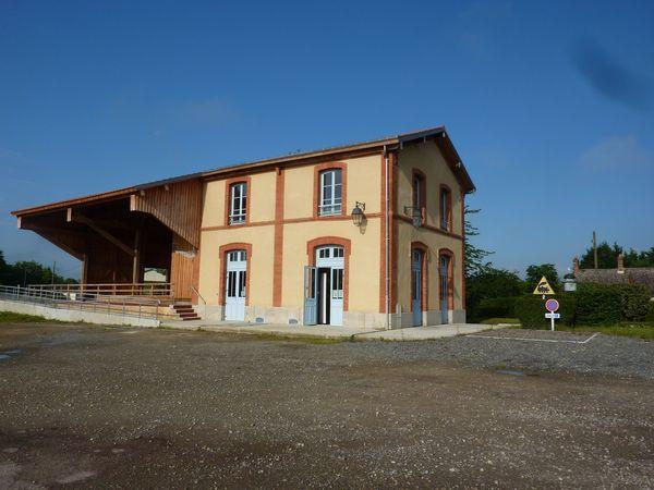 Journées du patrimoine 2018 - ancienne gare - CIAP du pays du Perche Sarthois