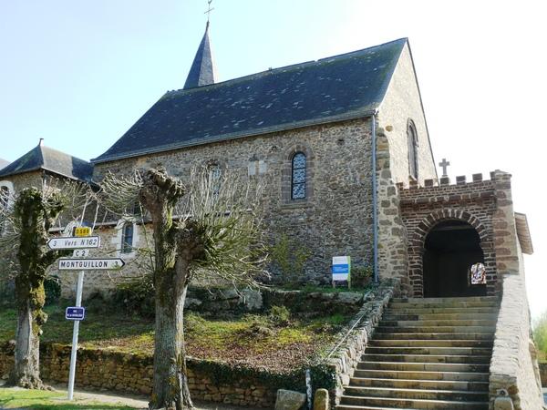 Journées du patrimoine 2019 - Visite Eglise de Molières en Mayenne