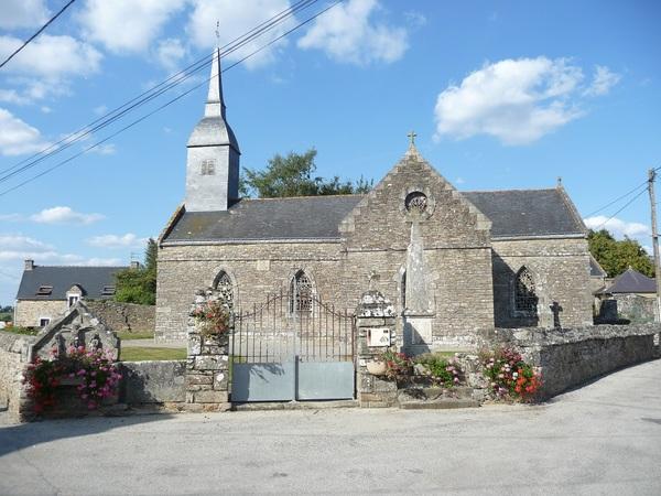 Crédits image : église de Coët-Bugat - © C. Maillard