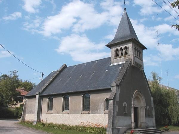 Crédits image : Église de Dompierre  © Mr. Cousin Patrick
