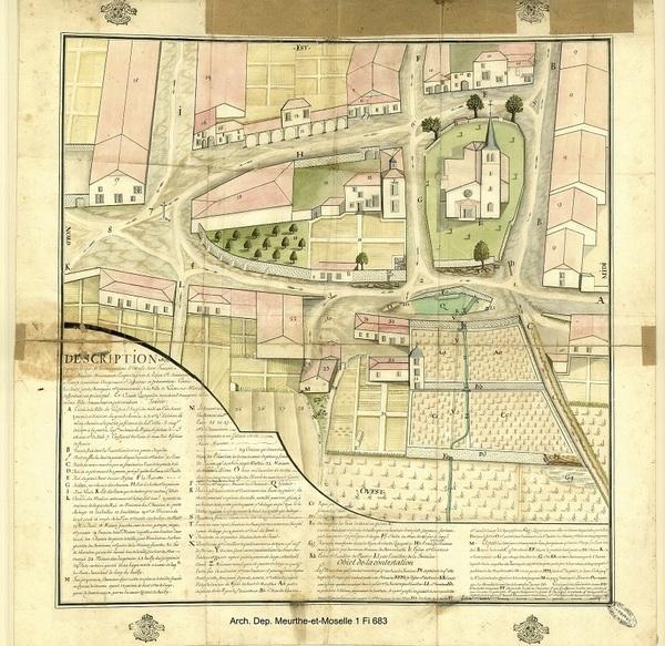Crédits image : Frolois - Archives Départementales de la Meuthe-et-Moselle - 1Fi 683