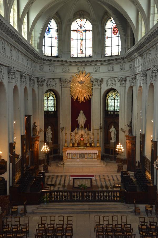 Journées du patrimoine 2019 - Visite guidée de l'église Notre-Dame des Blancs-Manteaux