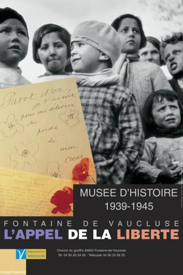 Journées du patrimoine 2017 - Visitez le Musée d'Histoire Jean Garcin : 39-45 l'Appel de la Liberté